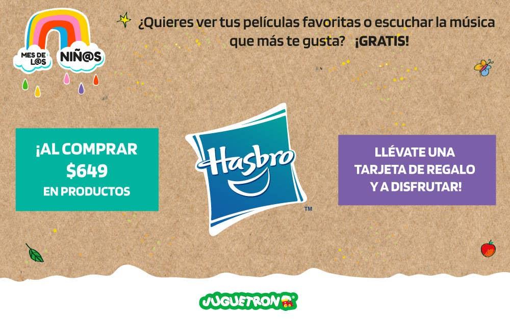 Términos y condiciones: Tarjeta de regalo Hasbro.