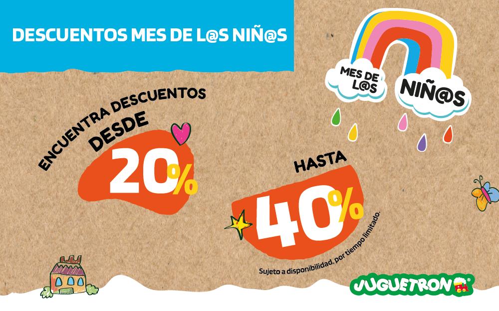 Términos y condiciones promociones Día del Niño 2021