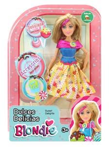 Muñeca Blondie 10208 Dulces Delicias