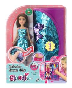 Muñeca Blondie 10213 Estuche Super Estrella