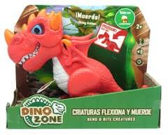 Dino Zone Criaturas Flexiona y Muerde Juguetron