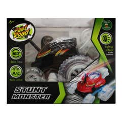 Vehiculo a Control Remoto Stunt Monster Juguetron