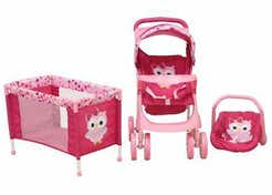 Carriolita Maxi Doll Buhos 10574005