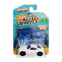 Fast Wheels Coche Basico Carro Blanco