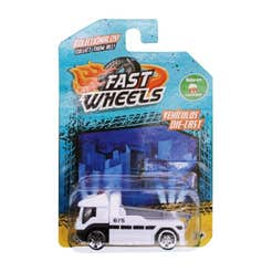 Fast Wheels Coche Basico Grua Blanca