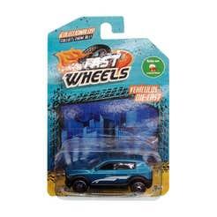 Fast Wheels Coche Basico Camioneta Azul Con Blaco