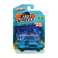Fast Wheels Coche Basico Azul Claro