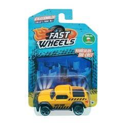 Fast Wheels Coche Basico Camioneta Azul H510F