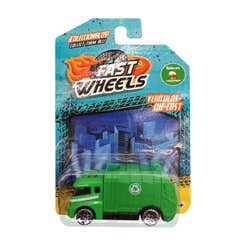 Fast Wheels Coche Basico Camion De Basura Verde