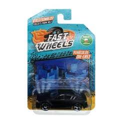 Fast Wheels Coche Basico Coche Negro Mate Cerrado