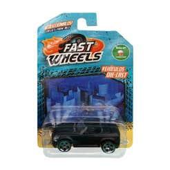 Fast Wheels Coche Basico Coche Negro Mate Convertible