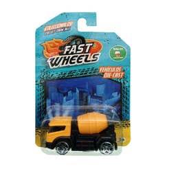Fast Wheels Coche Basico Camión Amarillo Para Mezcla