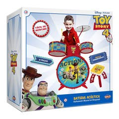 Bateria Musical Toy Story 4 10605B