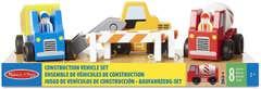Melissa And Doug 10656 Juego De Vehículos De Construcción