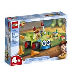 LEGO Disney Pixar Toy Story 4 Woody y RC 10766