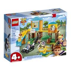 LEGO Disney Pixar Toy Story 4 Aventura en el Parque de Juegos de Buzz y Bo Peep 10768