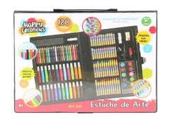 Happy Creations 10909 Estuche de Arte 120 Piezas Juguetron