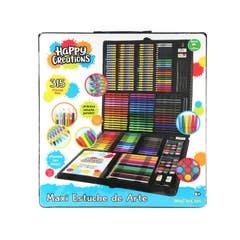 Happy Creations 10910 Maxi Estuche De Arte 315 Piezas Juguetron