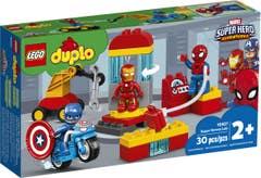 LEGO Laboratorio de Superhéroes 10921