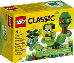 LEGO Bricks Creativos Verdes 11007