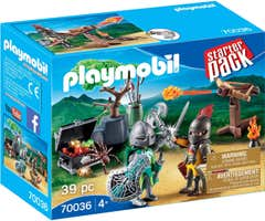 Playmobil 70036 Starterpack Batalla Del Tesoro 113870036
