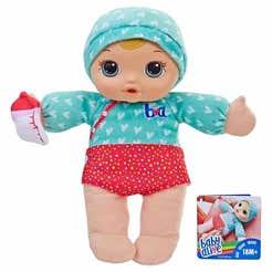 Muñeca Mimos y Cuidados Baby Alive, Rubia