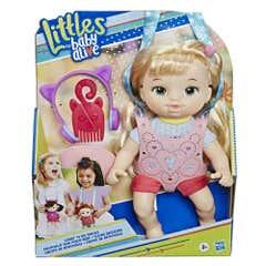 Littles Girl Blonde Straight Hair E7176