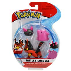 Figuras De Acción Pokemon 3 Pack Torracat, Ditto, Pyukumuku