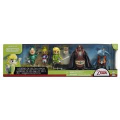 Nintendo Figuras de 2.5P Legend of Zelda Gift 5 Pack