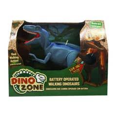 Dino Zone Dinosaurio Que Camina Juguetron Azul 80046