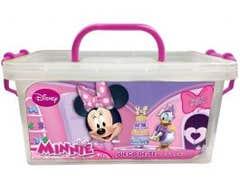 Juego De Te En Caja Multiusos Minnie 4 Personas