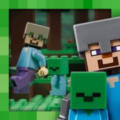 LEGO® Minecraft 21141 La cueva de los zombis