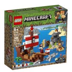 LEGO® Minecraft™ 21152 La Aventura del Barco Pirata
