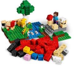 LEGO® Minecraft 21153 La Granja de Lana