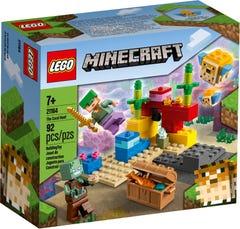 LEGO Minecraft El Arrecife de Coral 21164