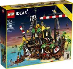 LEGO Ideas Piratas de Bahía Barracuda 21322