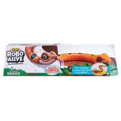 Juguete Reptil Robo Alive Naranja 25261