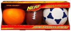 Nerf Mini Sports Multi Pack 26306