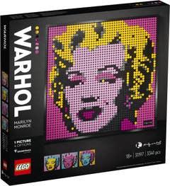 LEGO Art Andy Warhol's Marilyn Monroe 31197
