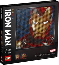 LEGO Art Marvel Studios Iron Man 31199