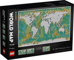 LEGO® Art 31203 Mapa Mundial