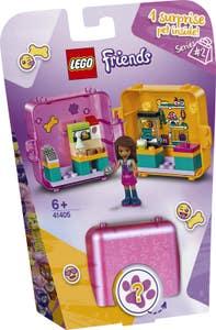 LEGO Friends Cubo-Tienda de Juegos de Andrea 41405