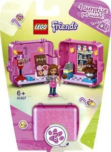 LEGO Friends Cubo-Tienda de Juegos de Olivia 41407