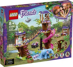 LEGO® Friends 41424 Base de Rescate en la Jungla