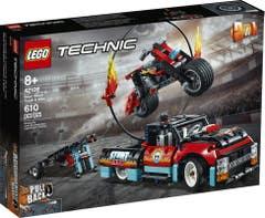 LEGO® Technic 42106 Espectáculo Acrobático: Camión y Moto