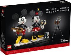 LEGO® Disney Princess™ 43179 Personajes Construibles: Mickey Mouse y Minnie Mouse
