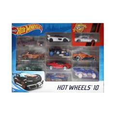 Hot Wheels - 10 Pack Set 4 54886