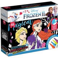 Rompecabezas Atercipopelado Frozen Ii