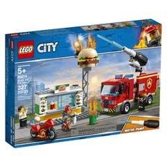 LEGO City Fire Rescate del Incendio en la Hamburguesería 60214
