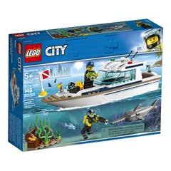 LEGO City Yate de Buceo 60221